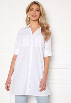 Happy Holly Katrina long shirt White 48/50