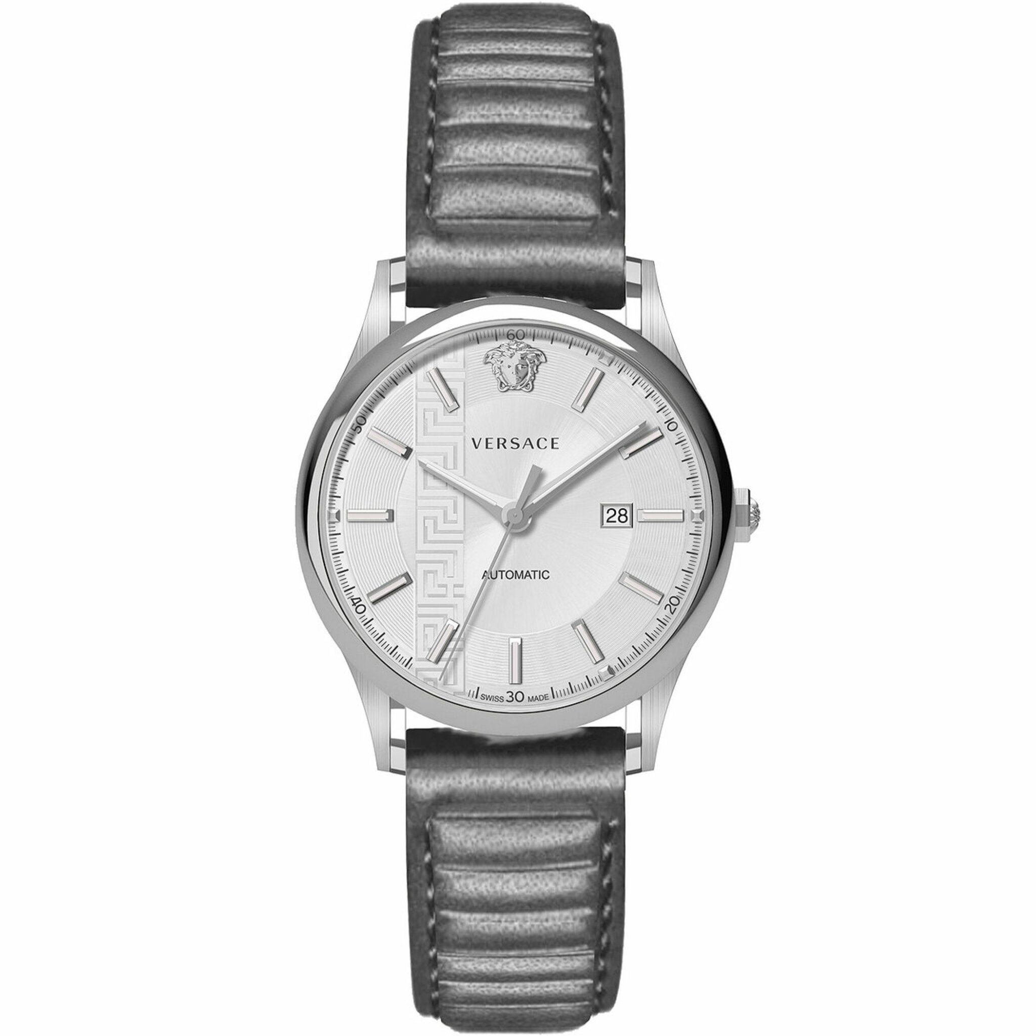 V18010017, Automatic, 44mm, 5atm, silver