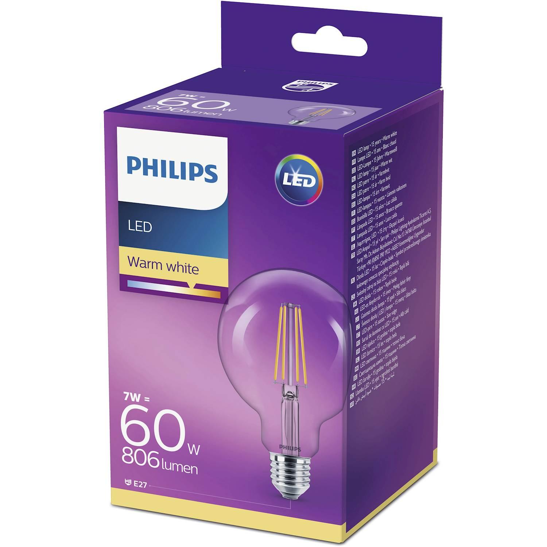 Philips LEDCL. GLOB 60W E27 VV KL ND