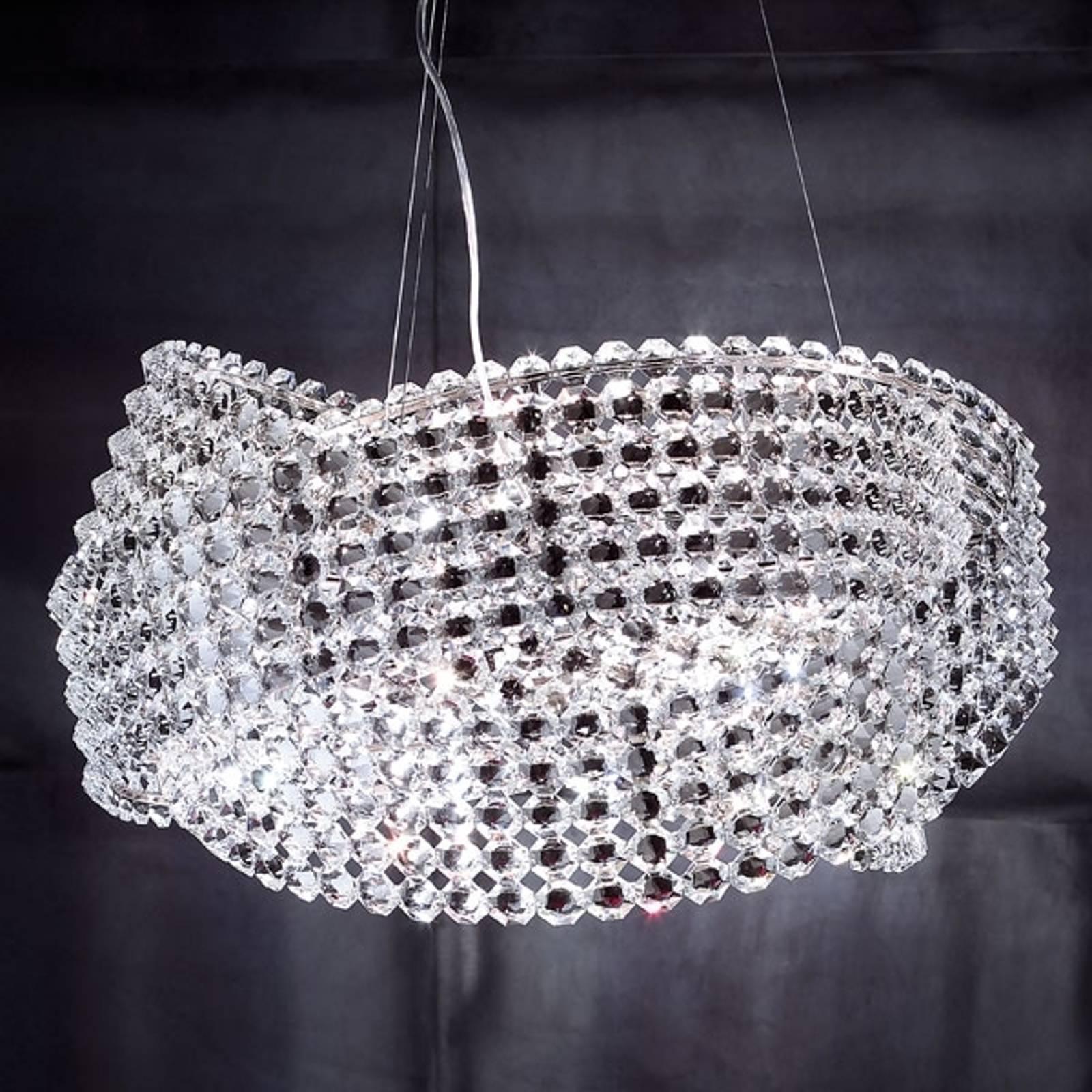 Kristalliriippuvalaisin Diamante Ø 65 cm