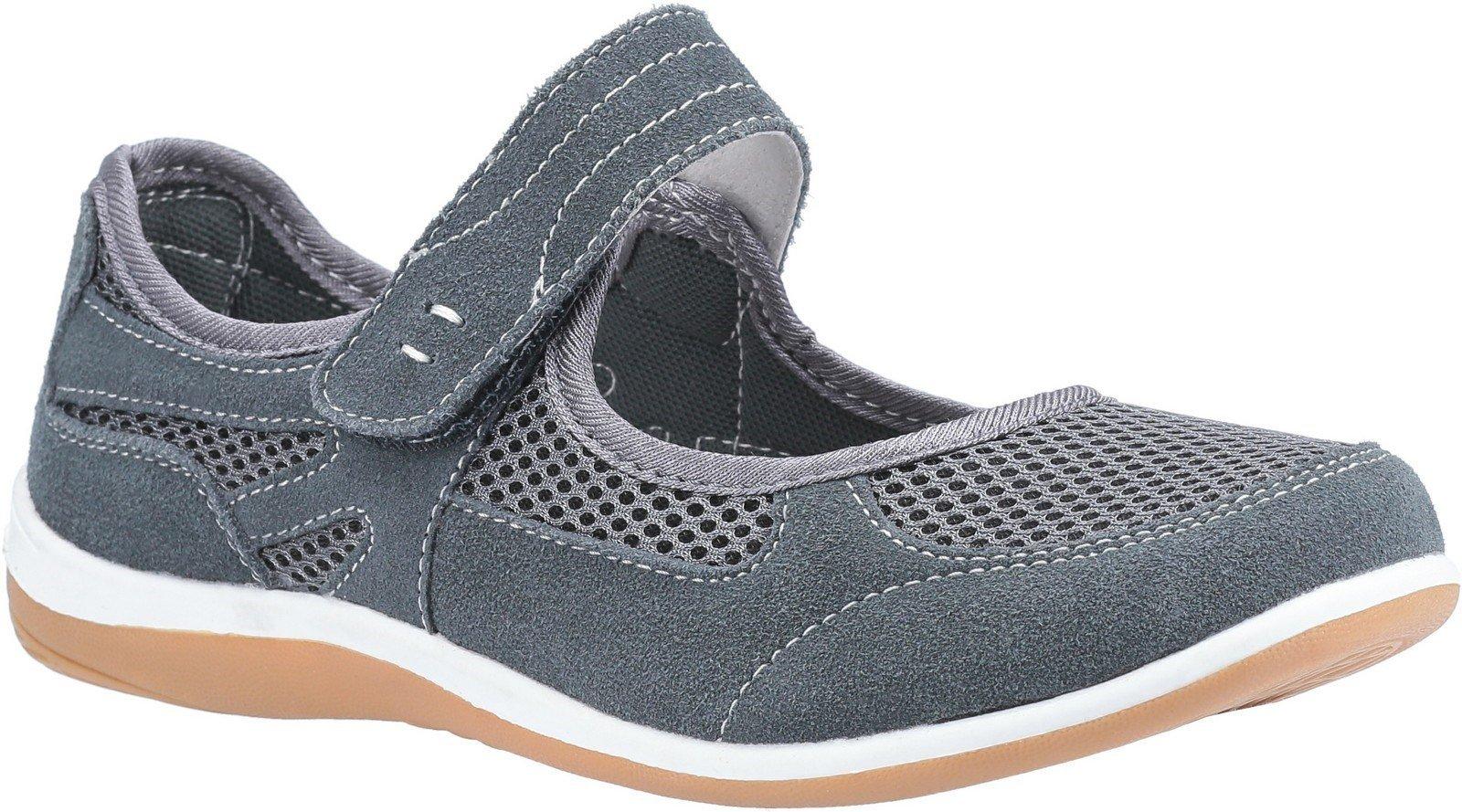 Fleet & Foster Women's Morgan Touch Slip on Sandal Various Colours 30110-51113 - Grey 3