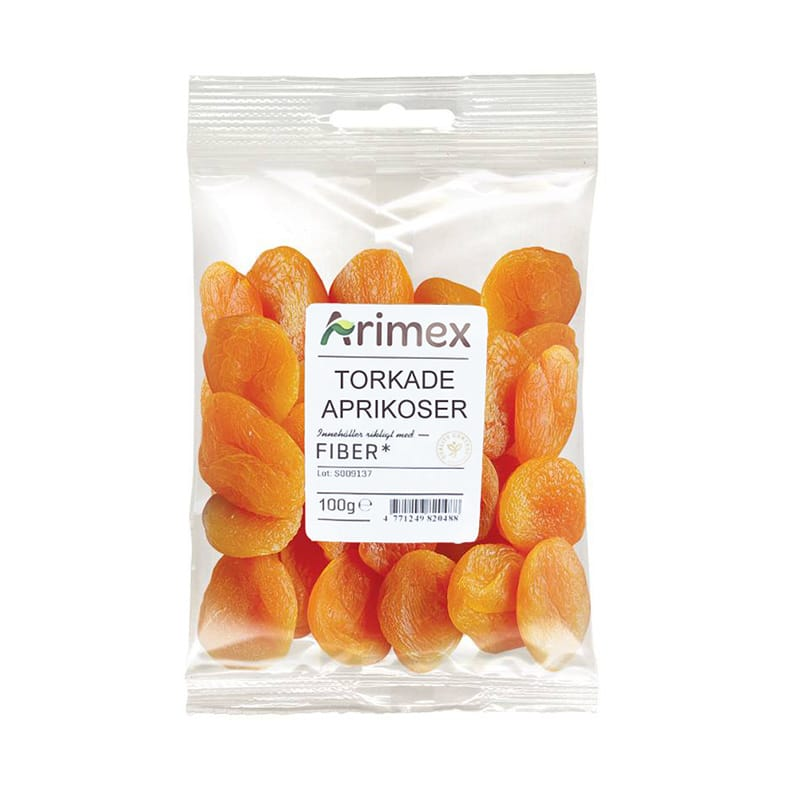 Arimex Torkade Aprikoser 80 gram