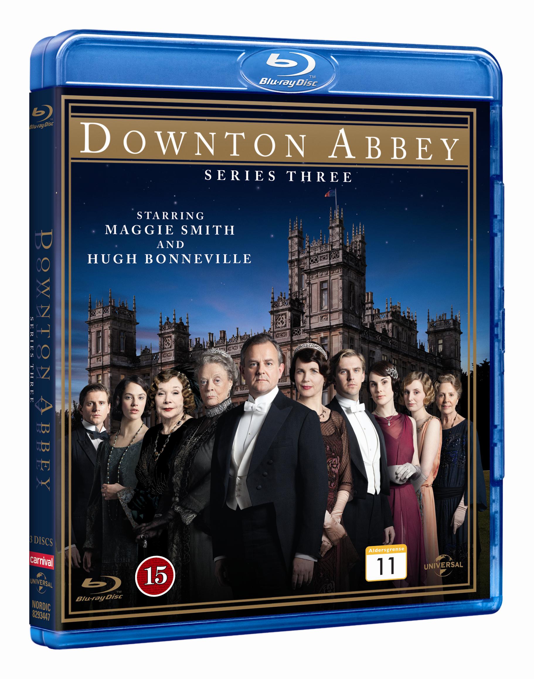 Downton Abbey - season 3 (Blu-Ray)
