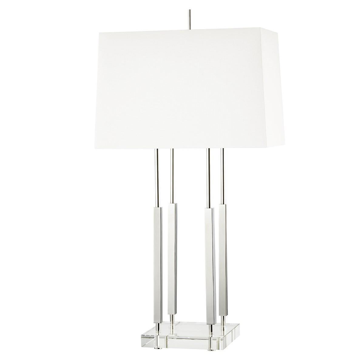 Hudson Valley I Rhinebeck Table Lamp I Polished Nickel