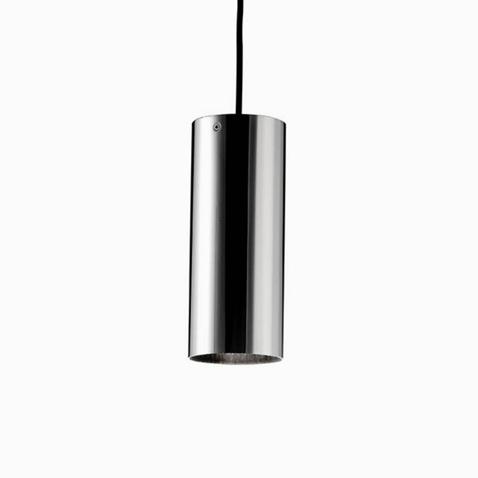 Basic – sylindrisk hengelampe, matt nikkel