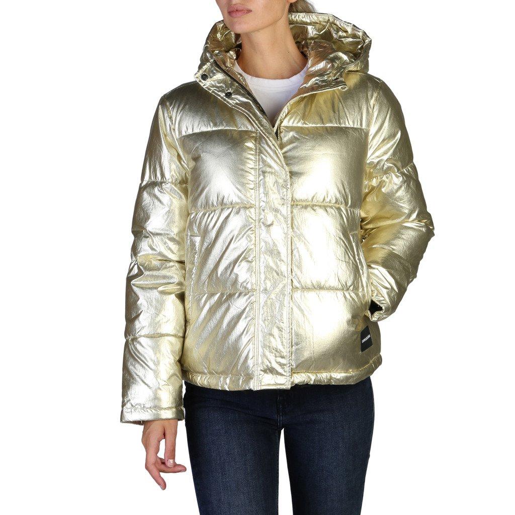 Calvin Klein Women's Jacket Yellow 349538 - yellow XS