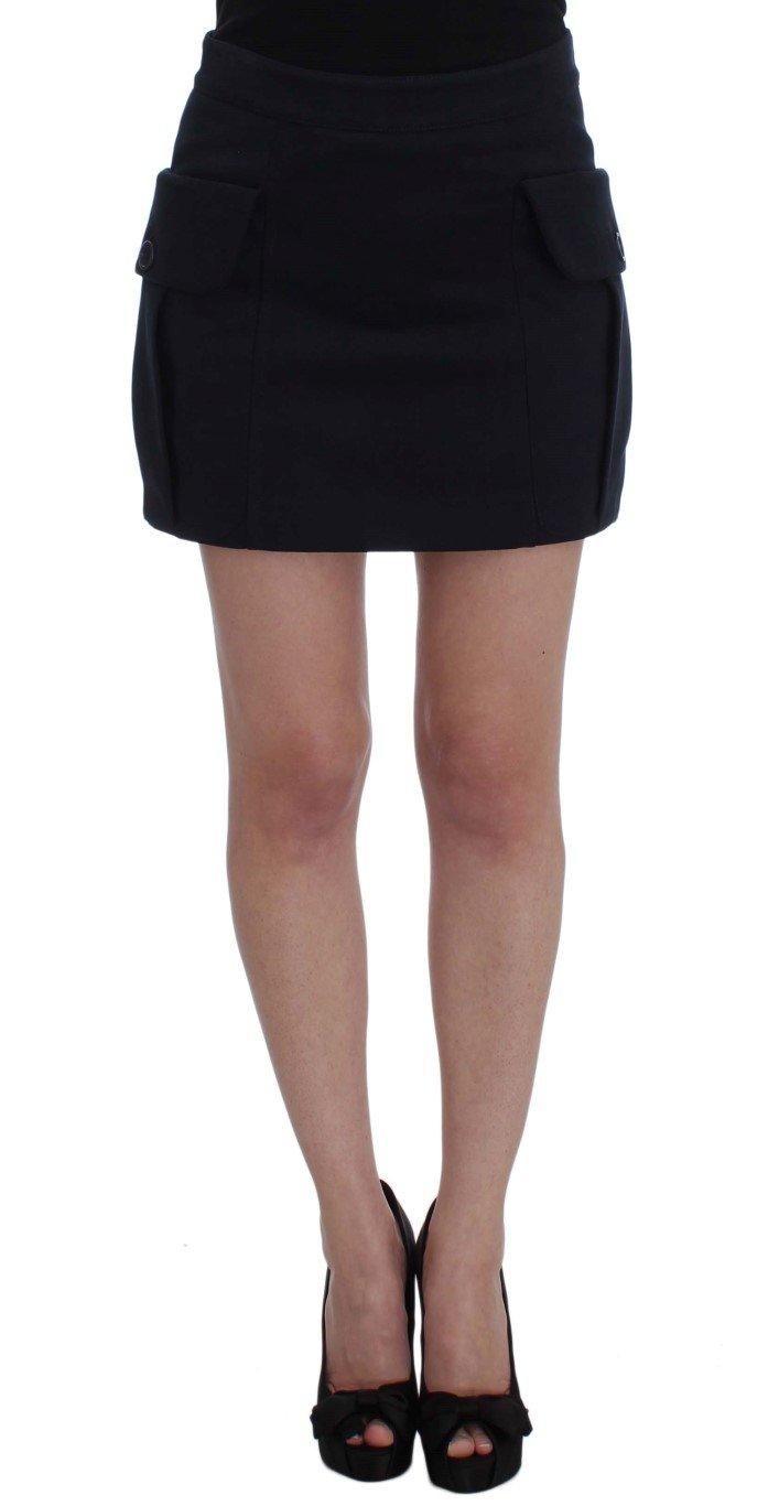 GF Ferre Women's Cotton Denim Mini Skirt Blue SIG32470 - IT40|S
