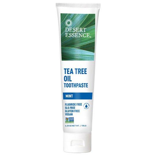 Desert Essence Tea Tree Oil Toothpaste - Mint, 176 g