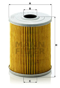Öljynsuodatin MANN-FILTER H 932/5 x