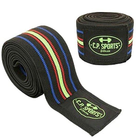 Knee Wraps, Black/Blue/Red/Yellow, 2,5 m