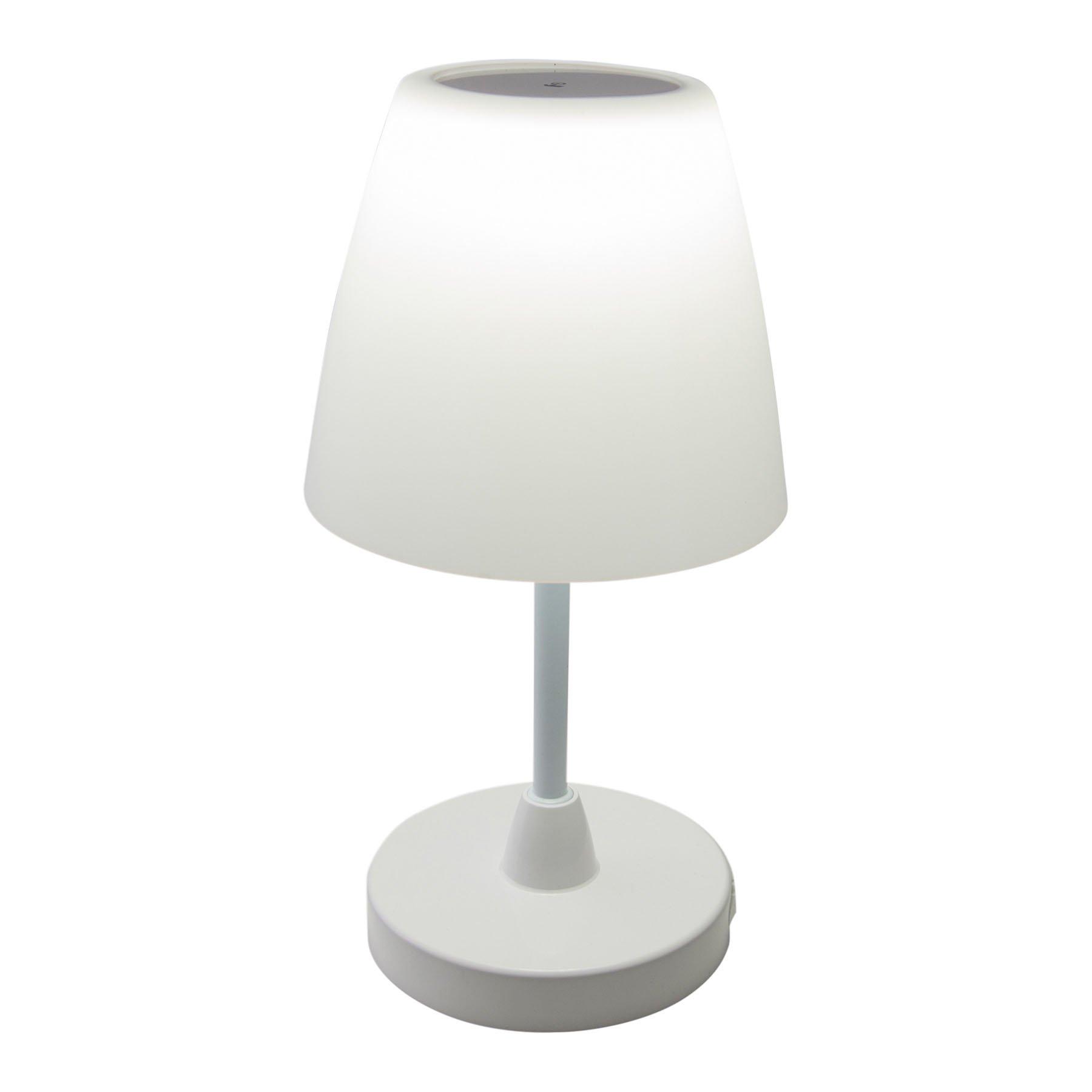 Toora LED-batteri-bordlampe, dimbar, IP44, berør.