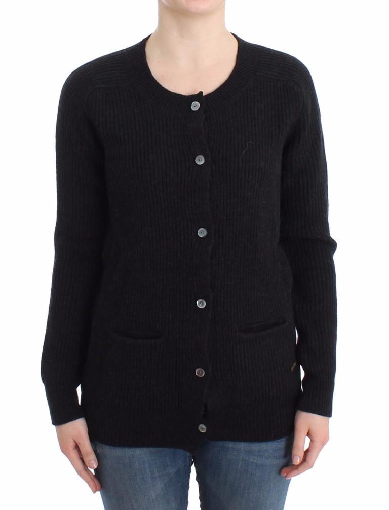 John Galliano Women's Wool Cardigan Black SIG12096 - S