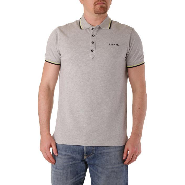 Diesel Men's Polo Shirt Grey 283882 - grey S