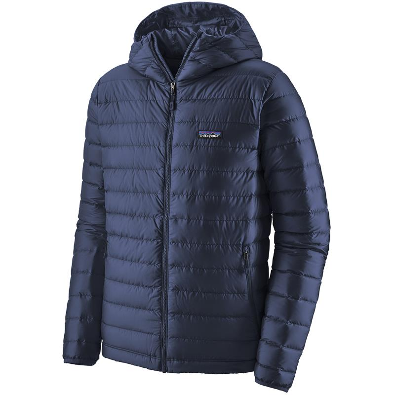 Patagonia Down Sweater Hoody L Hettejakke, herre, Classic Navy