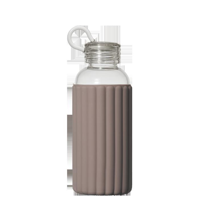 Sthlm Glass Bottle 0.5L, Comfort Grey