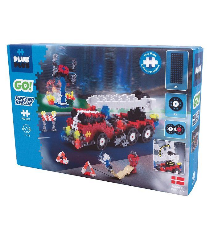 Plus Plus Go - Fire and Rescue (7009)