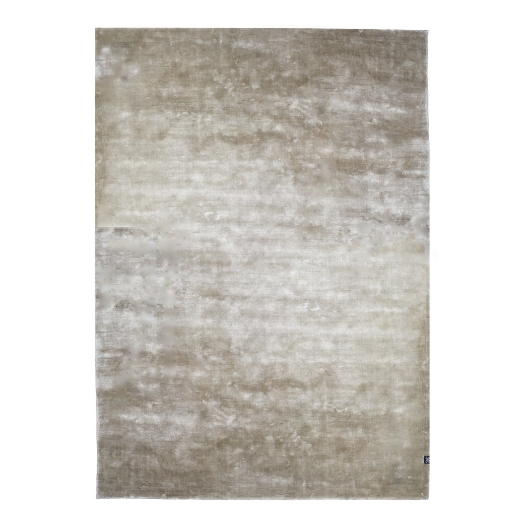 Viskosmatta VELVET TENCEL taupe 250 x 350 cm, Classic Collection
