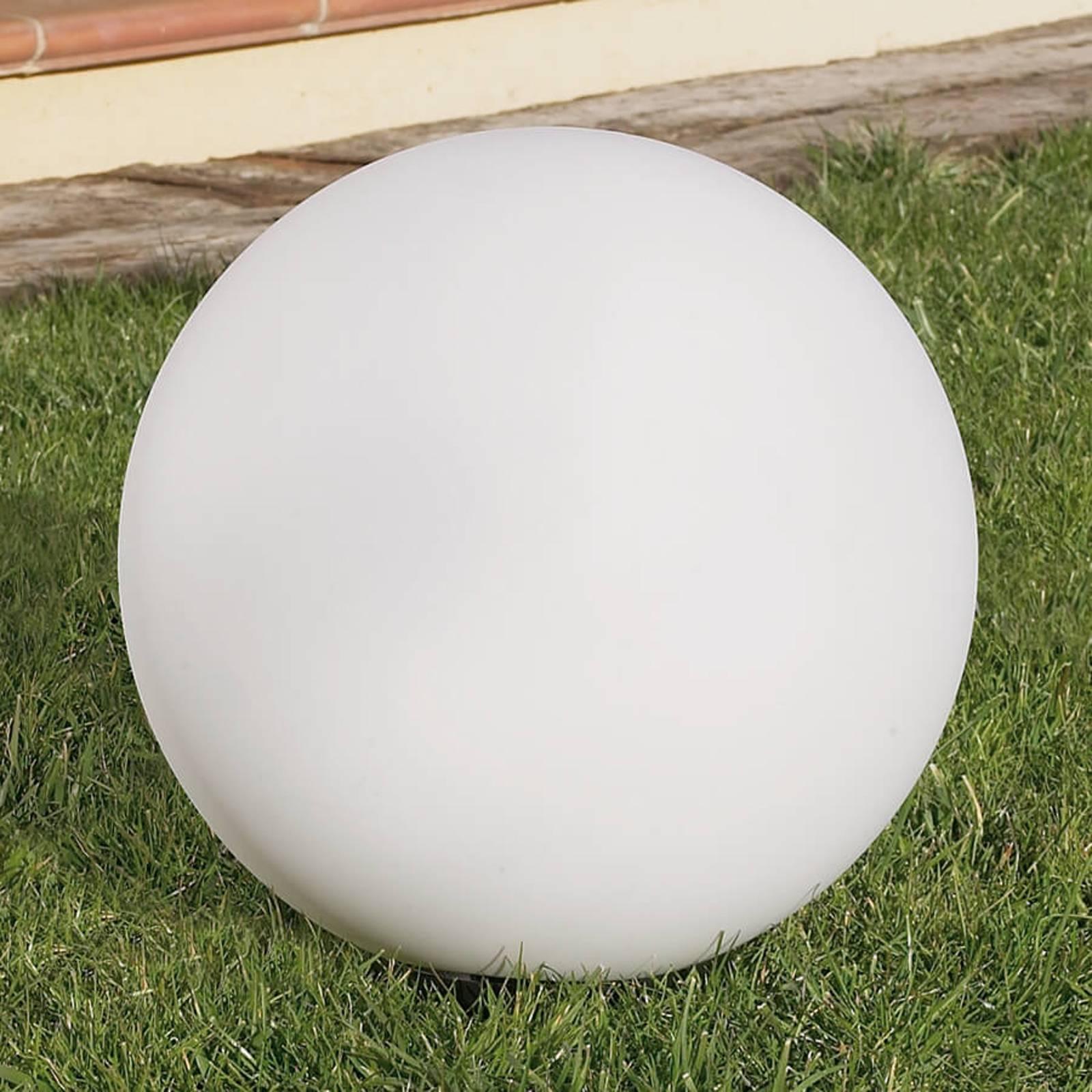 Koristeellinen CISNE-pallovalo ulkokäyttö Ø 40 cm