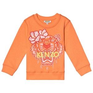 Kenzo Tiger Tröja Orange 10 years