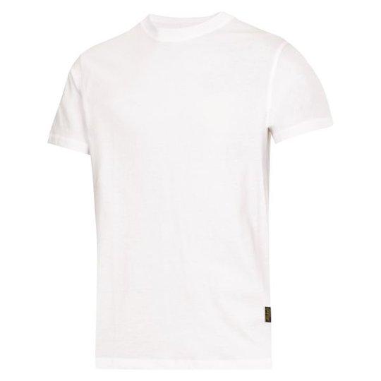 Snickers 2502 T-paita valkoinen XS