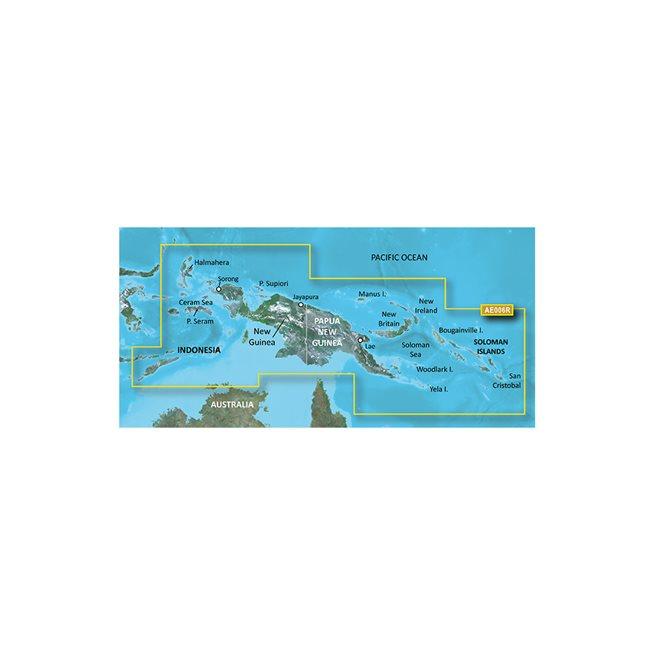 Garmin Timor Leste/New Guinea Garmin microSD™/SD™ card: HXAE006R