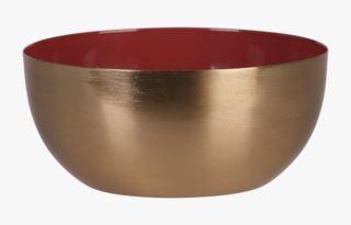 Bowl large kynttilänjalka terrakotta