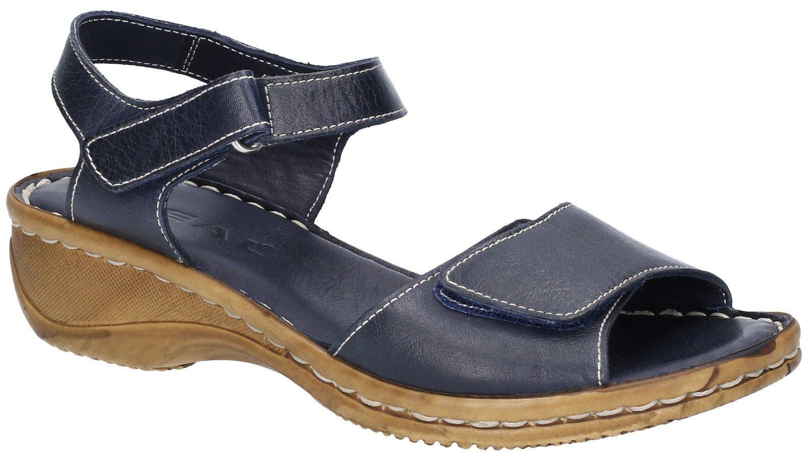 Fleet & Foster Women's Linden Touch Sandal Various Colours 28274 - Navy 3