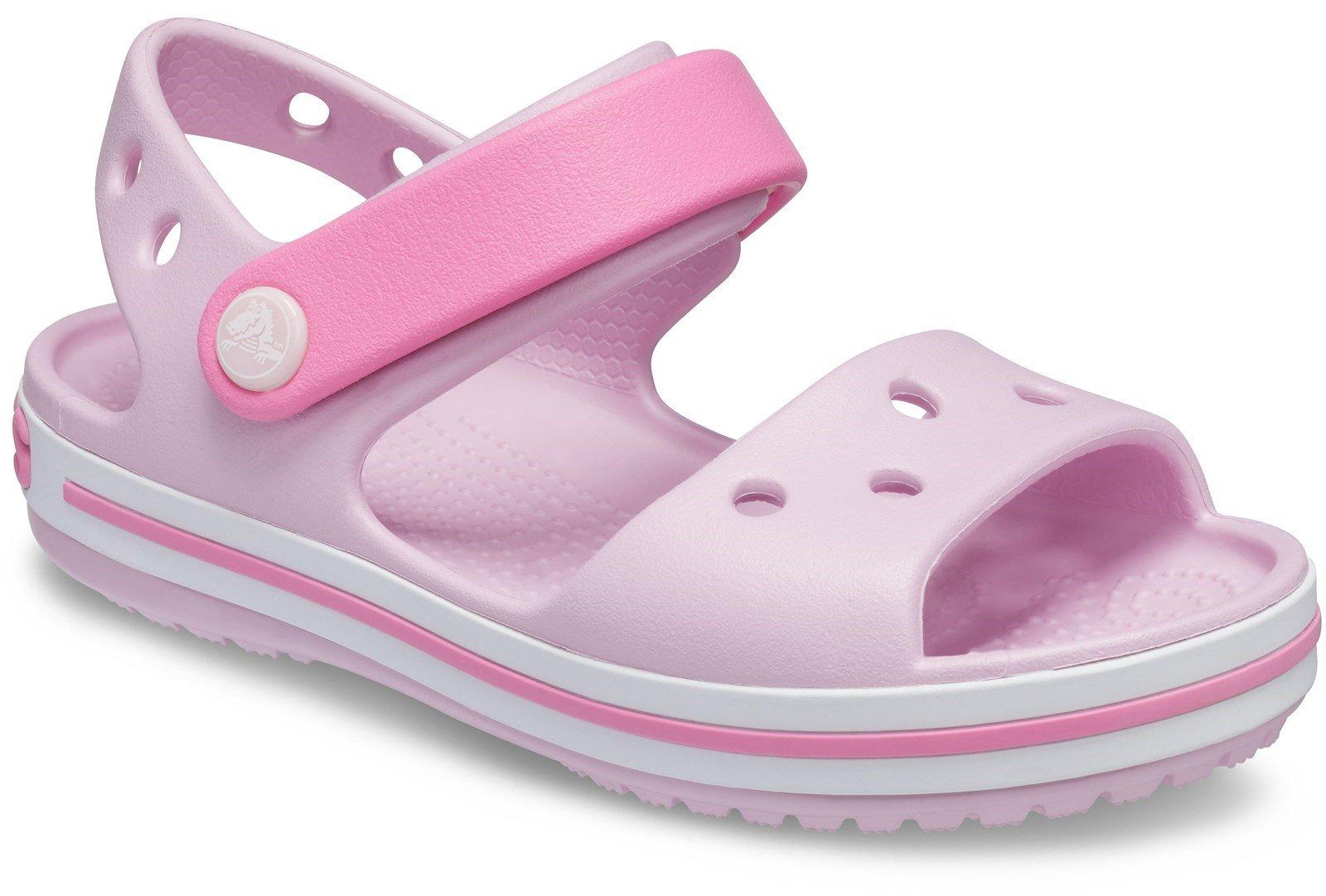 Crocs Kid's Crocband Sandal Various Colours 21077 - Ballerina Pink 4