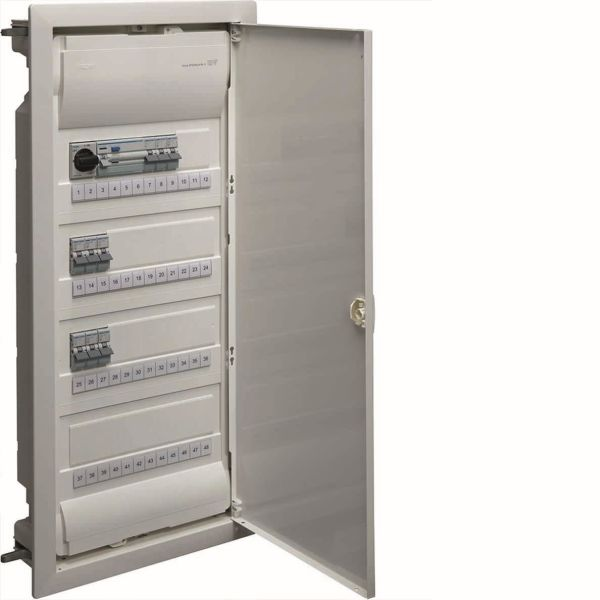 Hager VU48NF Kytkentäkaappi Tyyppi: Volta, IP30 4 x 12 moduulia