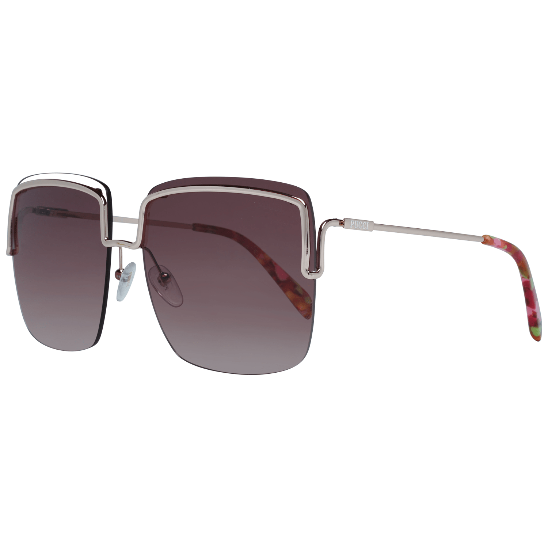 Emilio Pucci Women's Sunglasses Rose Gold EP0116 6228F