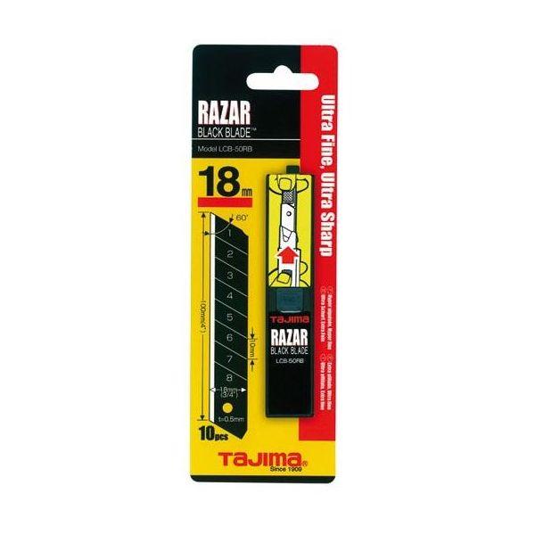 Tajima Razor Black Knivblad 10-pakning