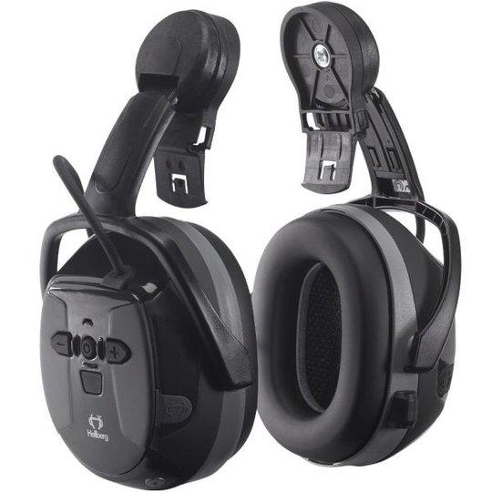 Hellberg Xstream Kuulosuojain Bluetooth ja kypäräkiinnike