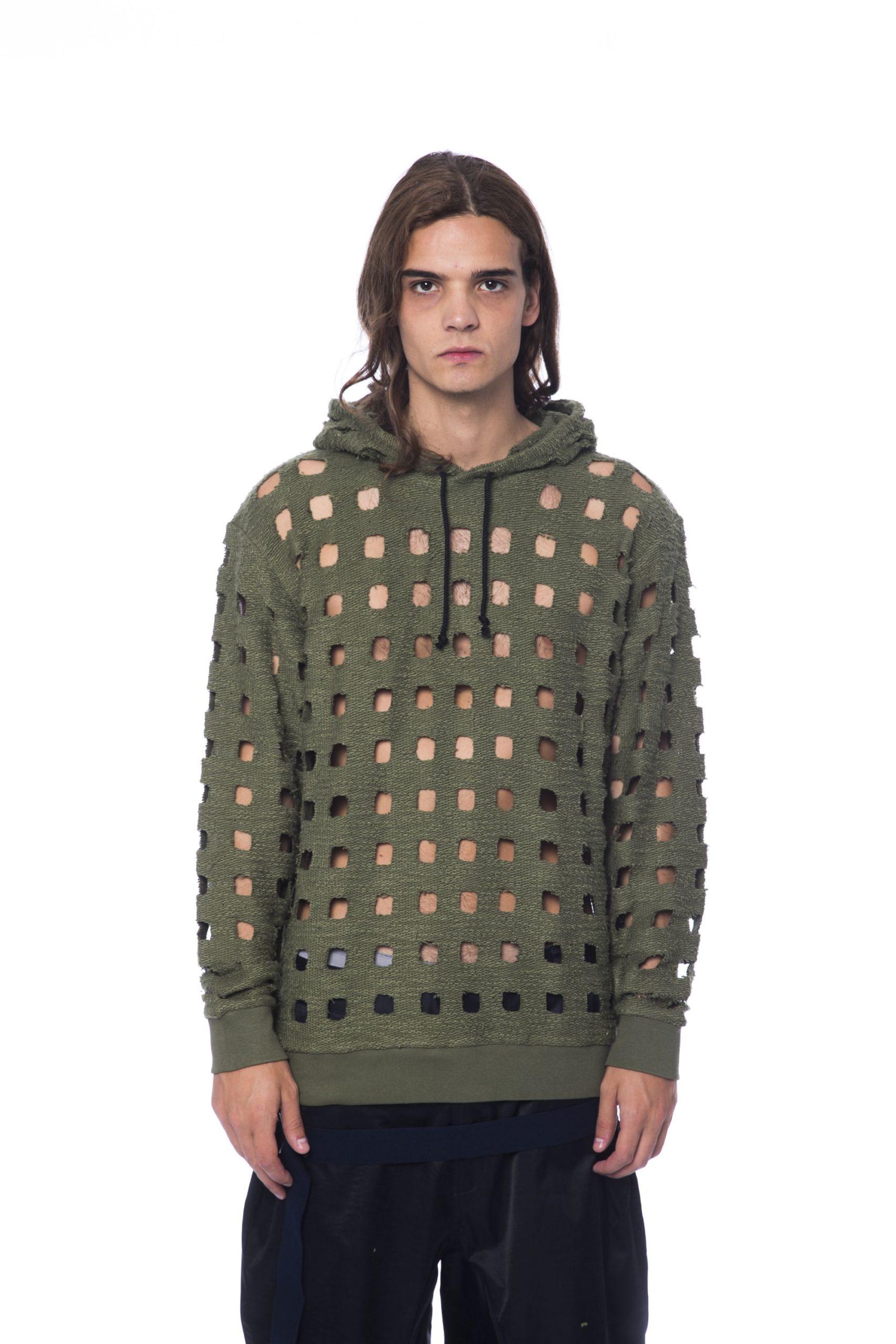 Nicolo Tonetto Men's Sweater Army NI1273153 - M