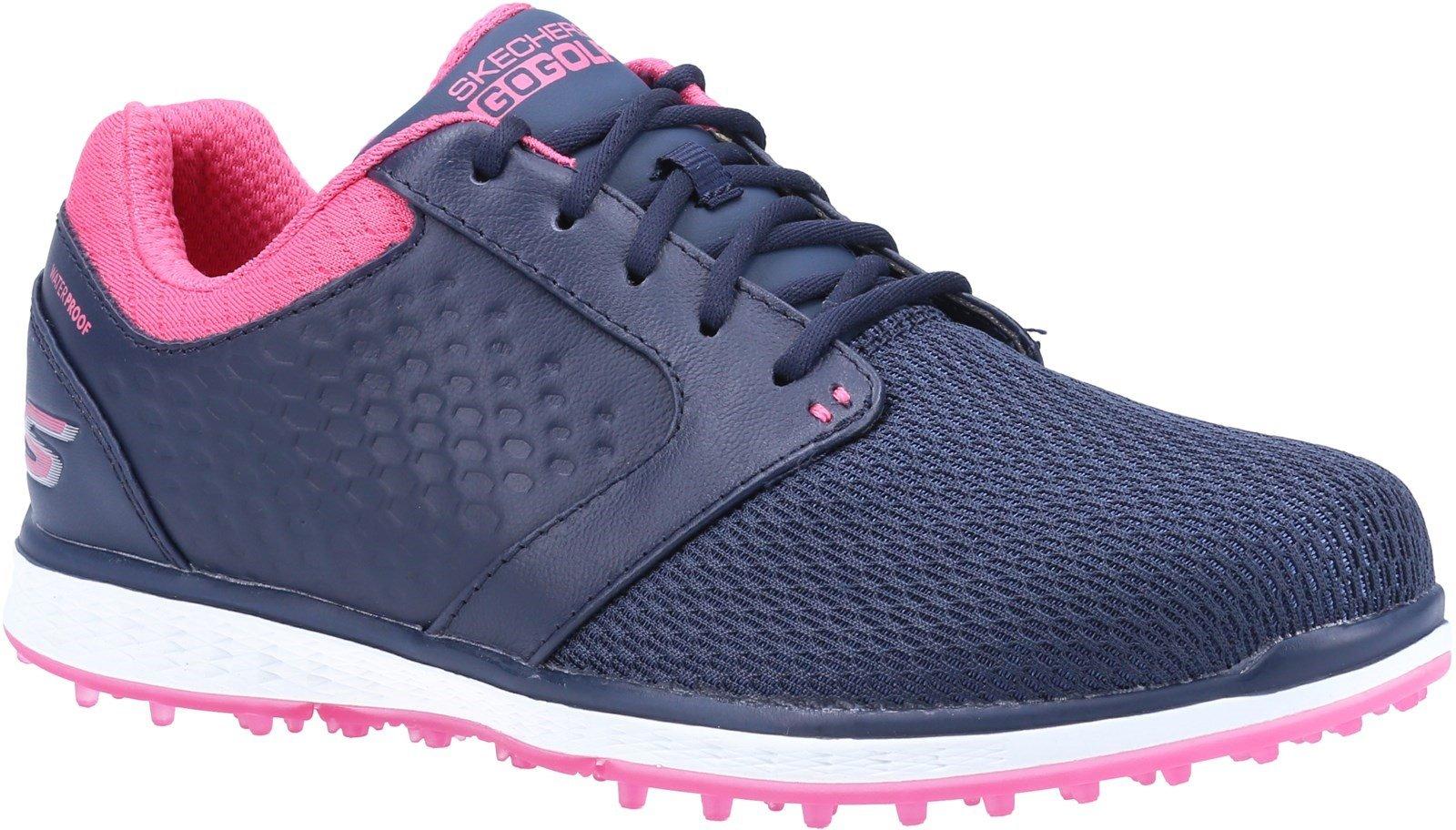 Skechers Women's Elite 3 Grand Sports Trainer Multicolor 32301 - Navy/Pink 3