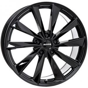 Nitro Aero FF Gloss Black 8.5x18 5/114.3 ET40 B64.1