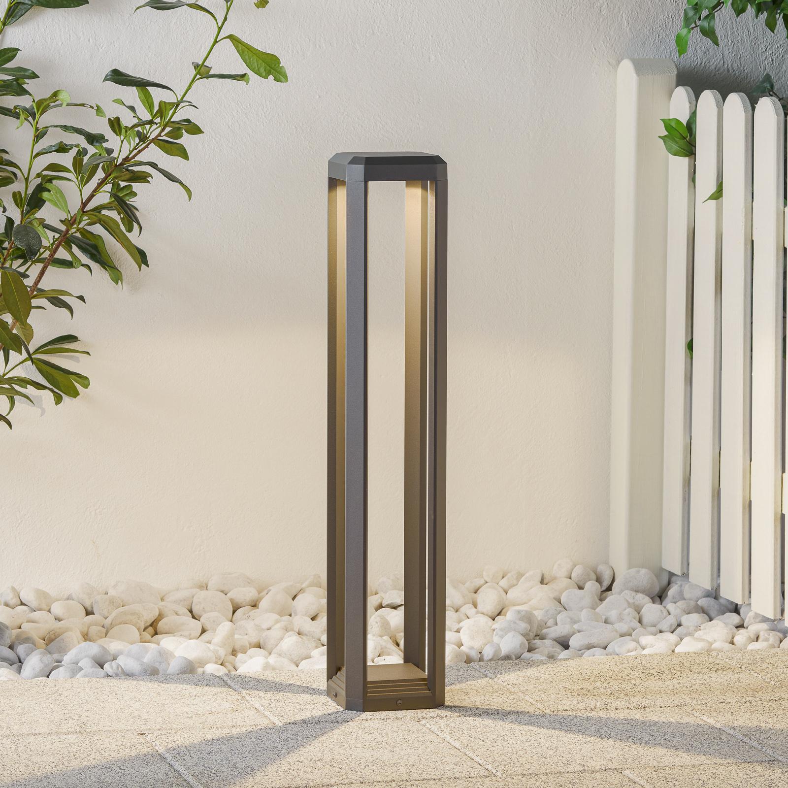 LED-pylväsvalaisin Logone - korkeus 80 cm