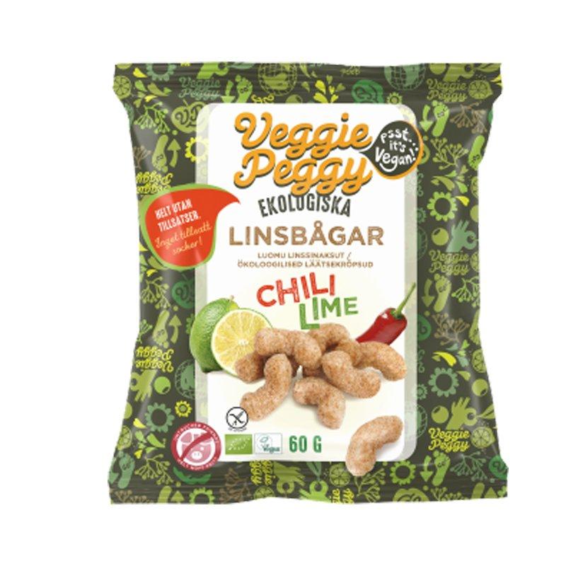 Luomu Linssinaksut Chili & Lime - 25% alennus