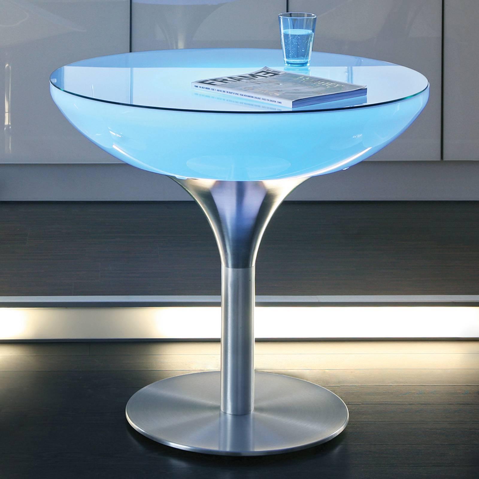 Monivärisesti valaiseva Lounge Table LED Pro 75cm