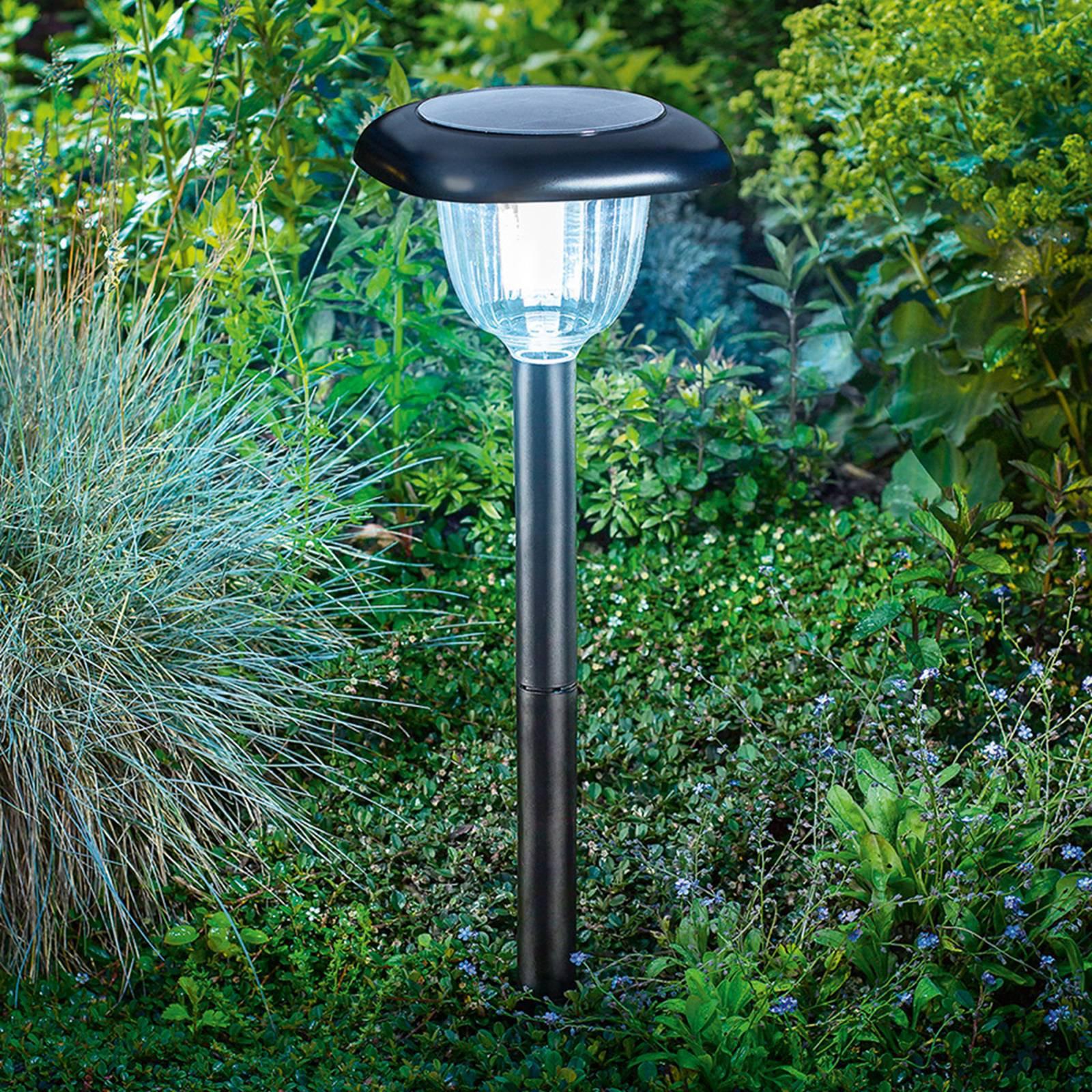 LED solcellelampe Classic Light Duo-Color-funksjon