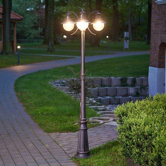 Kolmilamppuinen kynttelikkö Eddie, IP44