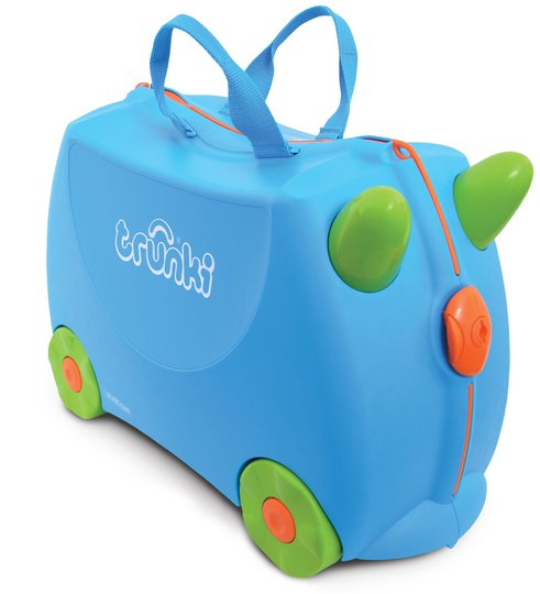 Trunki Koffert Blå