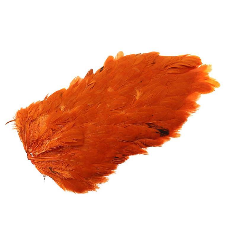 Whiting 4B Hen Saddle Burnt Orange