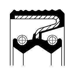 Oljetätningsring, fördelarväxel, Bak, Fram, Fram eller bak, Ingång, Utgång