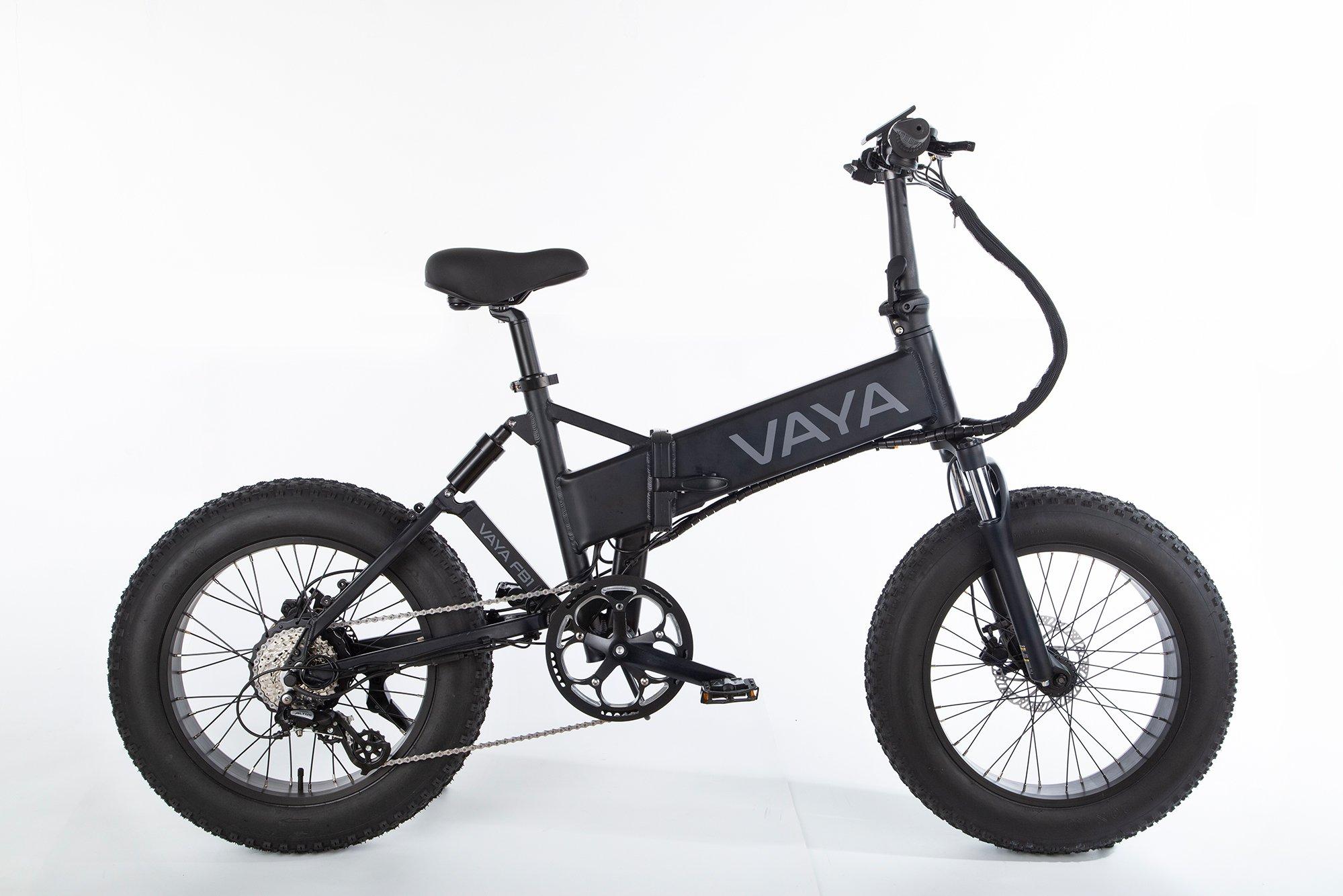 Vaya - Fatbike FB-1 E-Bike - Electric Bike - Black (1647BL)