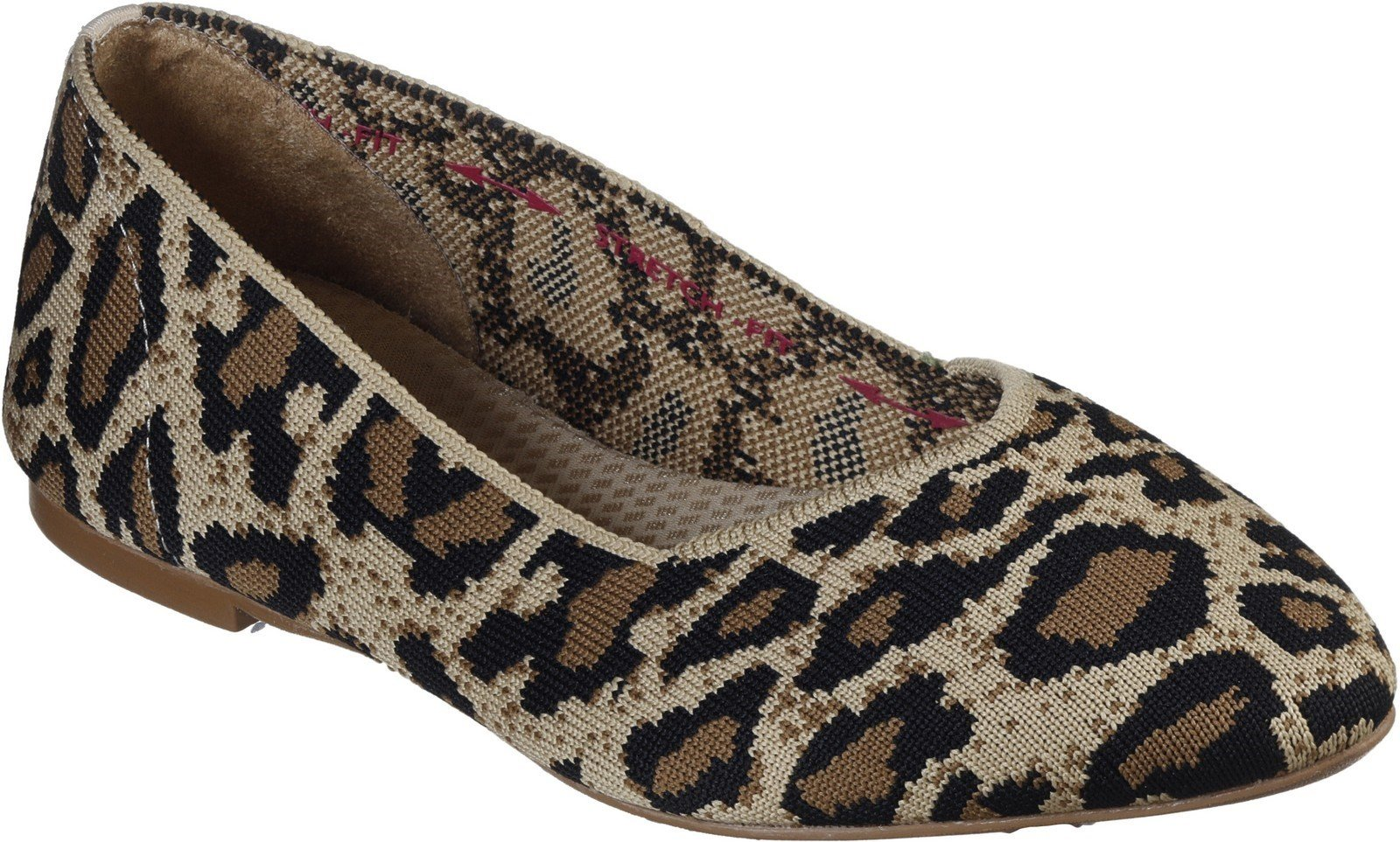 Skechers Women's Cleo Claw-Some Slip On Canvas Shoe Natural 30346 - Natural 3