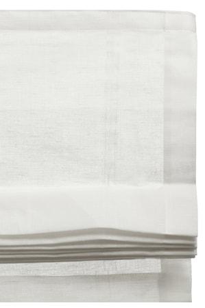 Hissgardin Ebba white 150x180