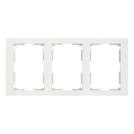 Elko Plus Yhdistelmäkehys 2-osainen, 3 lokero valkoinen