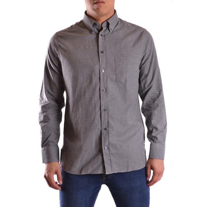 Gant Men's Shirt Grey 161048 - grey M