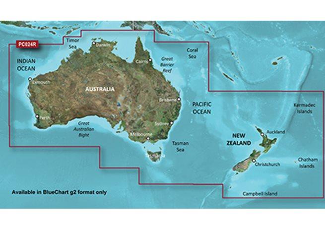 Garmin Australien + Nya Zeeland Garmin microSD™/SD™ card: HXPC024R