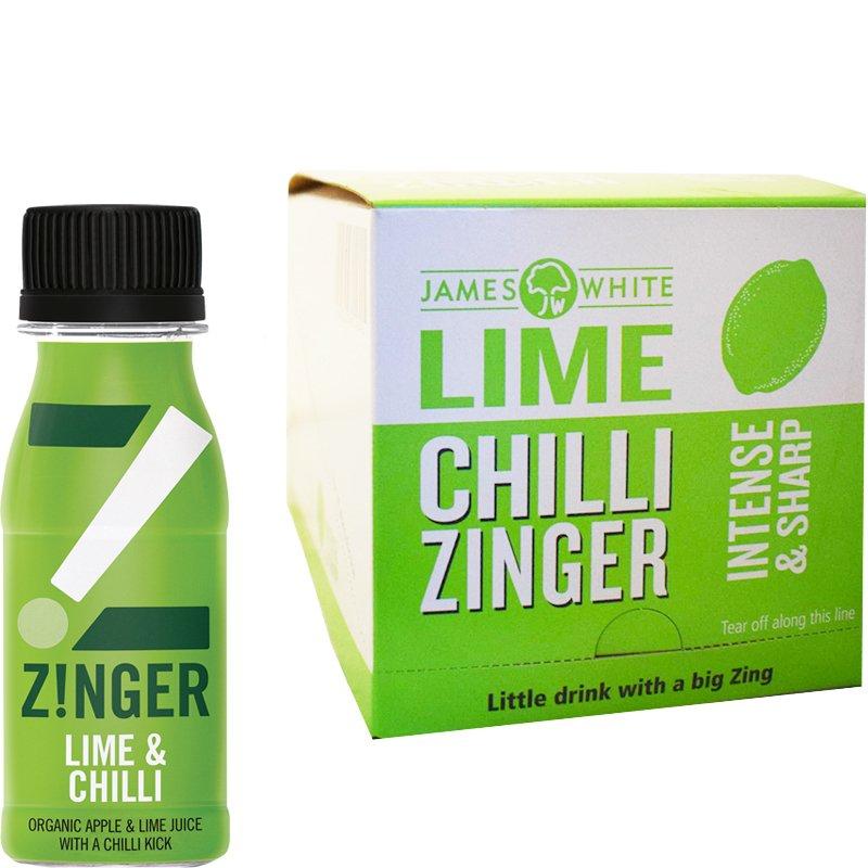 Luomu Mehujuomat Omena, Lime & Chili 15kpl - 88% alennus